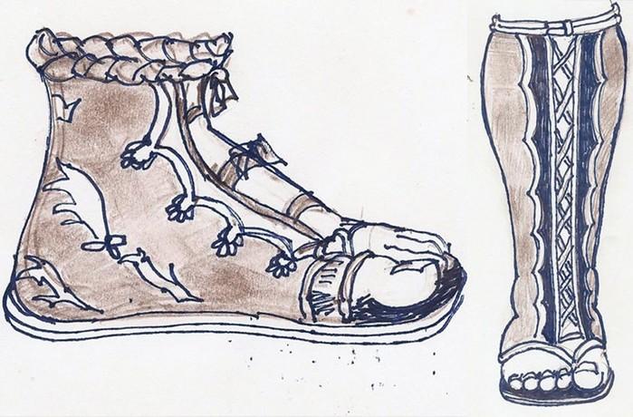 История появления каблука