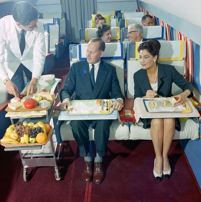 Бизнес класс по швейцарски в 60 х годах