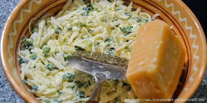 Капустный салат с сыром (700x350, 175Kb)