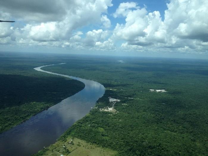 Водопад Кайетур в Гайане