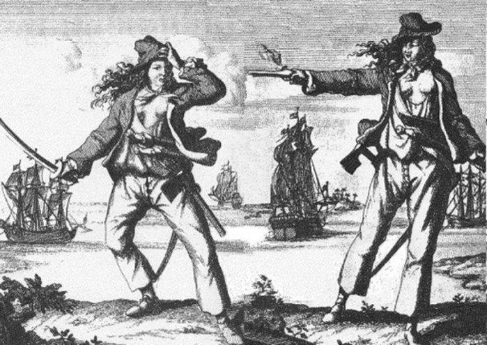 Самые известные женщины пираты в истории