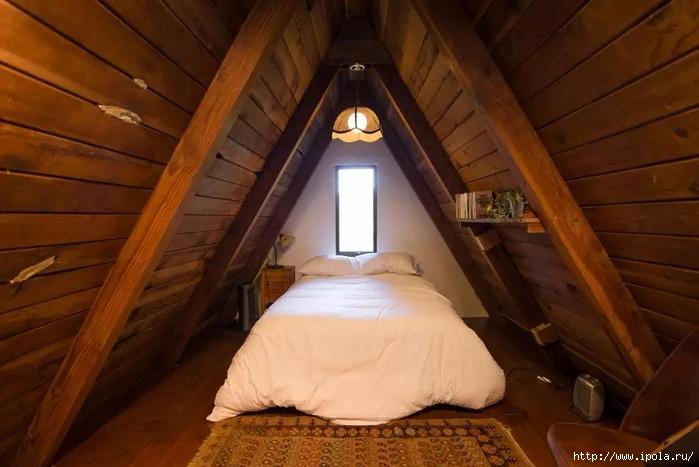Маленький домик шалаш