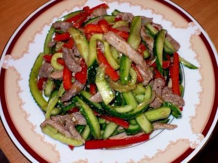 рецепты пикантных салатов (450x337, 176Kb)