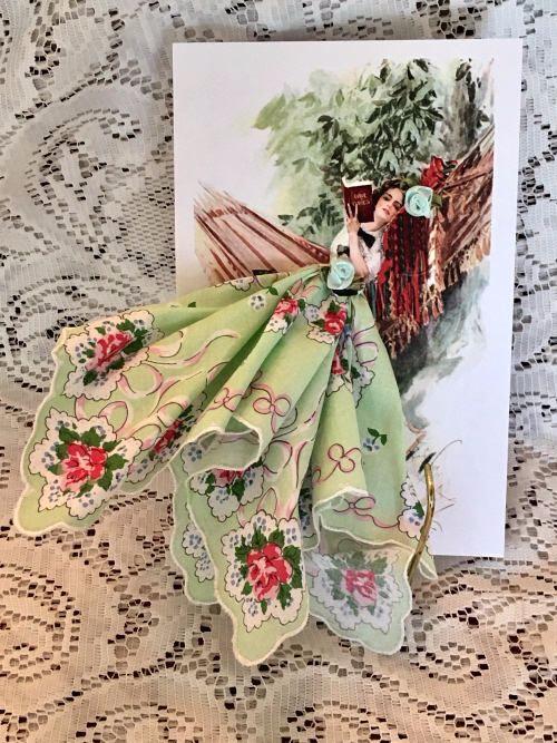 Открытка с платочками