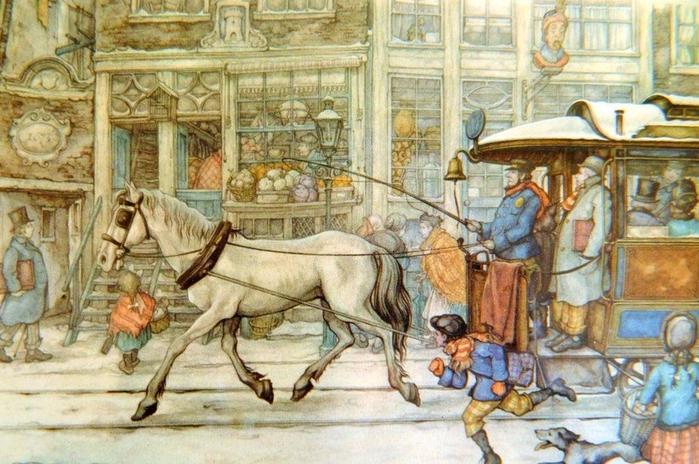 1. «Конка». Нидерландский иллюстратор Антон Пик (700x464, 447Kb)