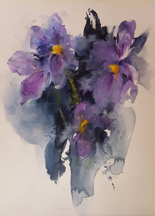 Wild Iris (503x700, 266Kb)