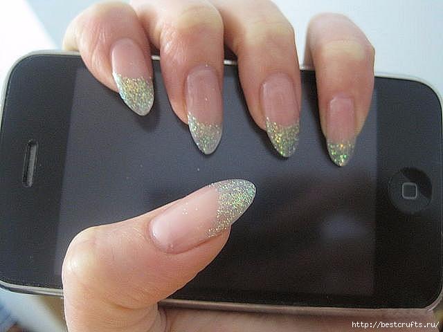 Маникюр с губкой, эффект нарощенных ногтей (4) (640x480, 127Kb)