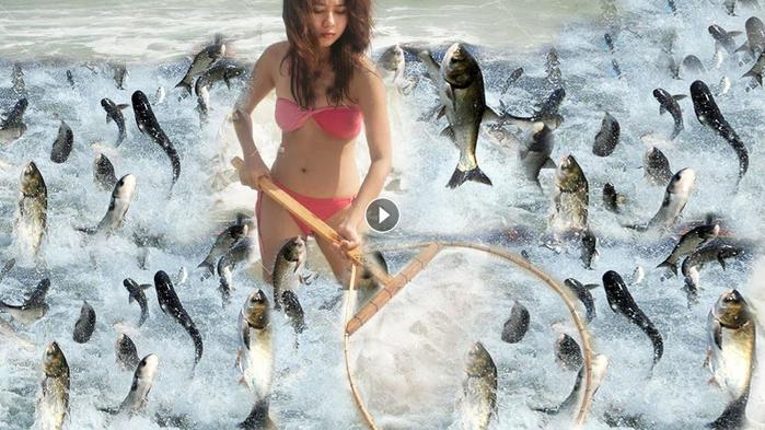 ловить рыбу руками восне