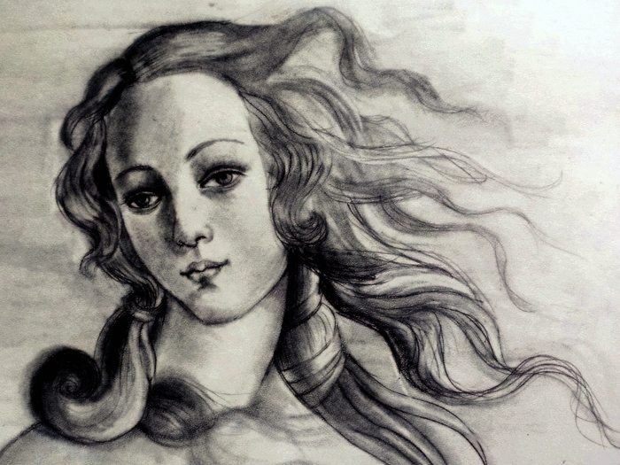 Боттичелли Рождение Венеры2 (700x525, 302Kb)
