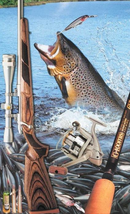 рыбак и его товары