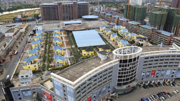 1. 25 вилл на крыше торгового центра в Хенгианге, Китай (620x348, 255Kb)