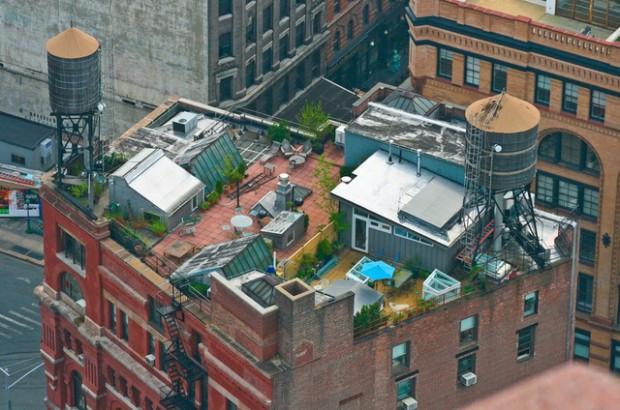12. Дом на крыше от Acheson Doyle Partners Architects, Нью-Йорк (620x410, 277Kb)