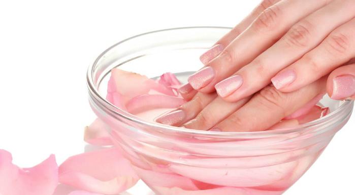 ванночки для ногтей с морской солью моя