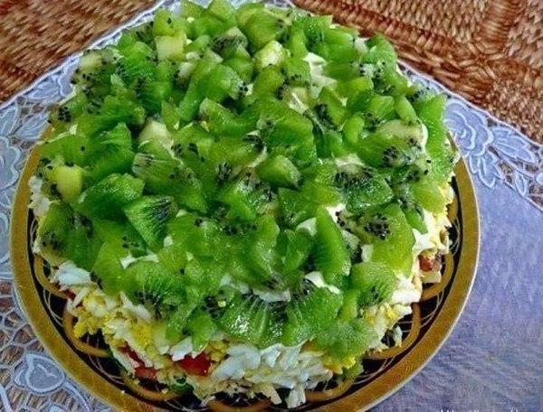 Салат россыпи рецепт с