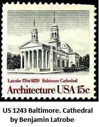 US 1243 Baltimore-Cathedral-by-Benjamin-Latrobe (196x250, 26Kb)