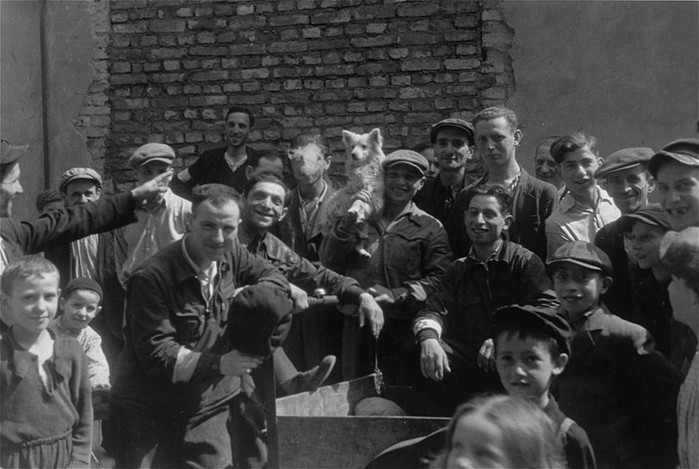 Запретные кадры Варшавского гетто 1941 года