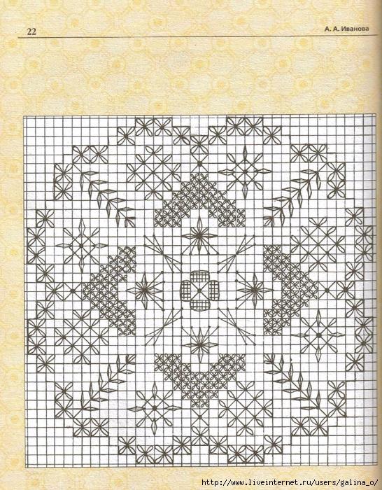 Схемы строчевой вышивки 19