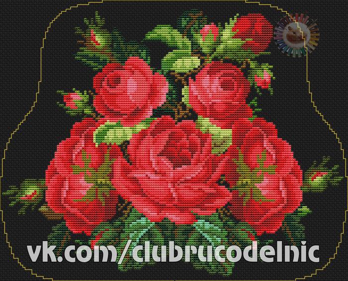 Romatic Roses (700x567, 601Kb)