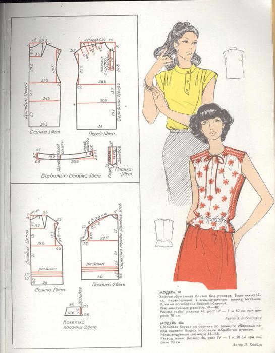Купить Выкройку Блузки Большого Размера