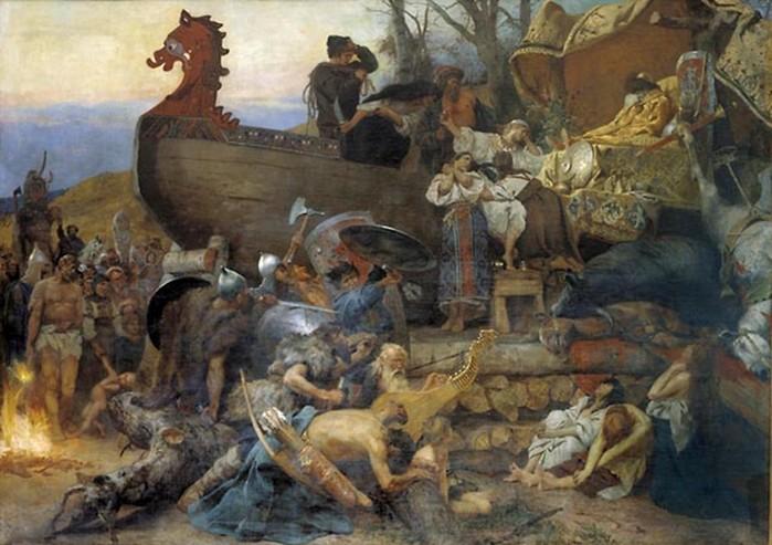 Какие гаремы были у восточных славян