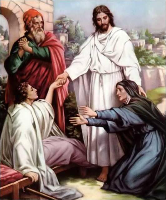 Воскреш сына вдовы (532x640, 50Kb)