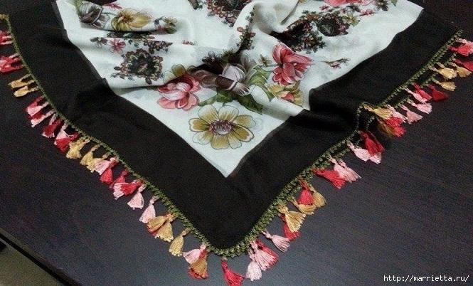 Бахрома для платка или шали своими руками (6) (665x402, 250Kb)