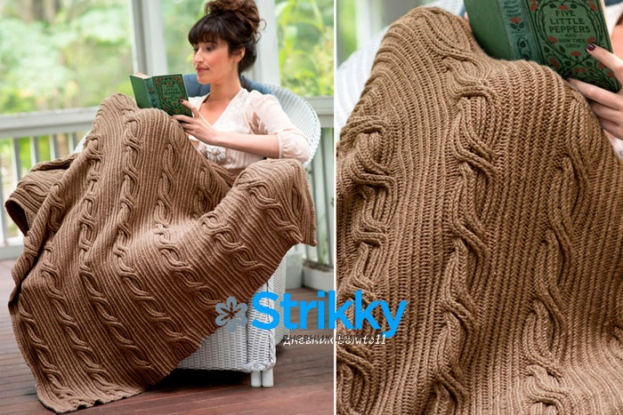 stilniy-pled-vyazaniy-spicami (700x467, 402Kb)
