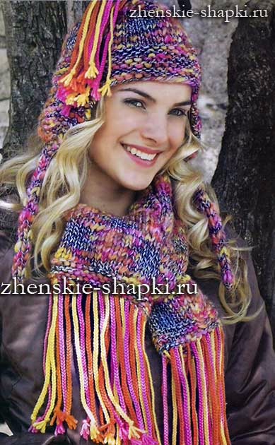 shapka-s-ushkami-i-sharf (389x630, 253Kb)