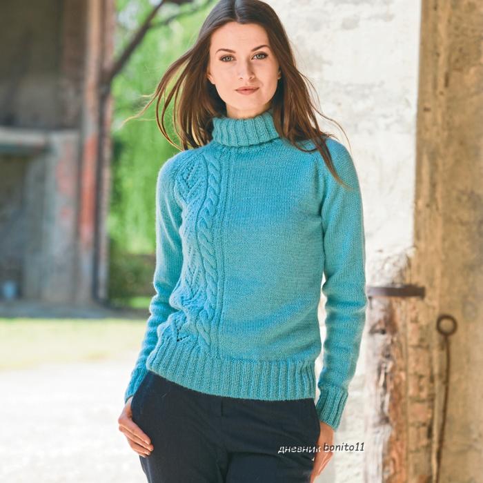 Асимметричный Пуловер