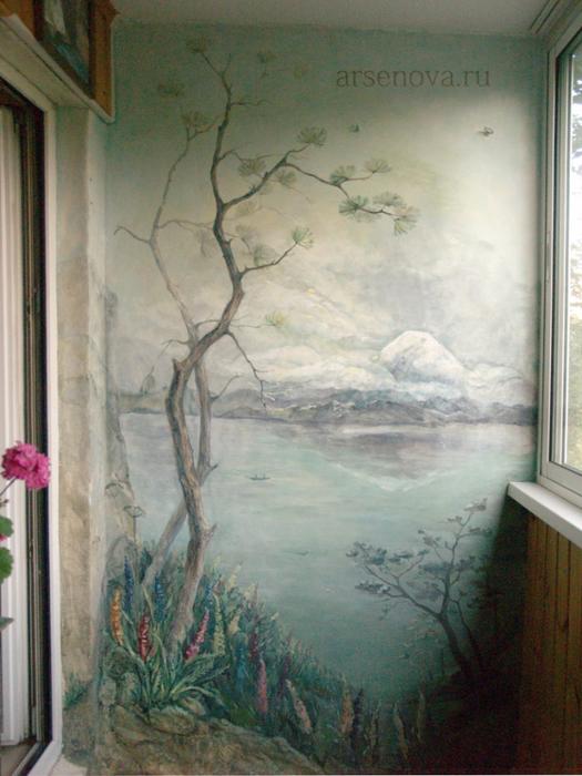 Роспись стен - самое интересное в блогах.