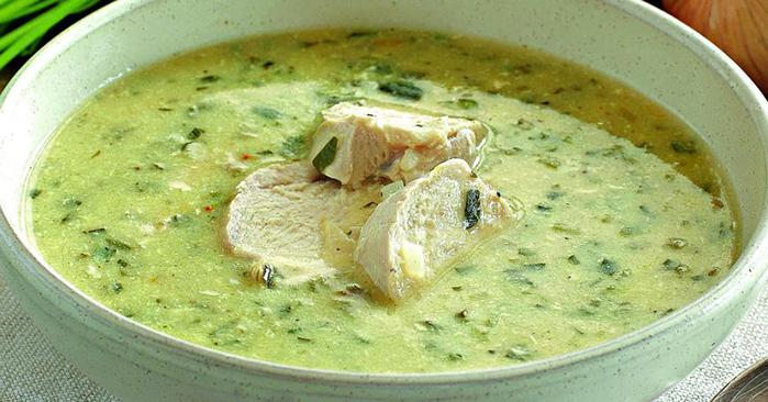 Чихиртма — грузинский суп из курицы
