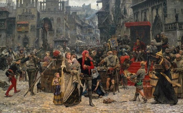 Какие русские князья умерли от чумы
