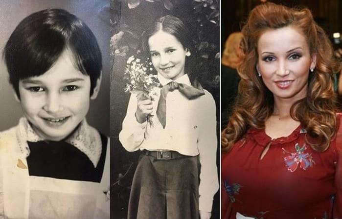 Как выглядели российские звезды в школьные годы