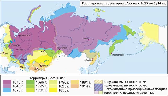 Как России удалось стать самой крупной страной
