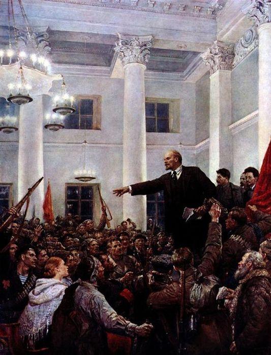 В.Серов. Ленин провозглашает советскую власть/3241858_lenin (533x700, 78Kb)