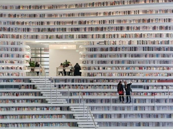 В Китае появилась новая супербиблиотека!