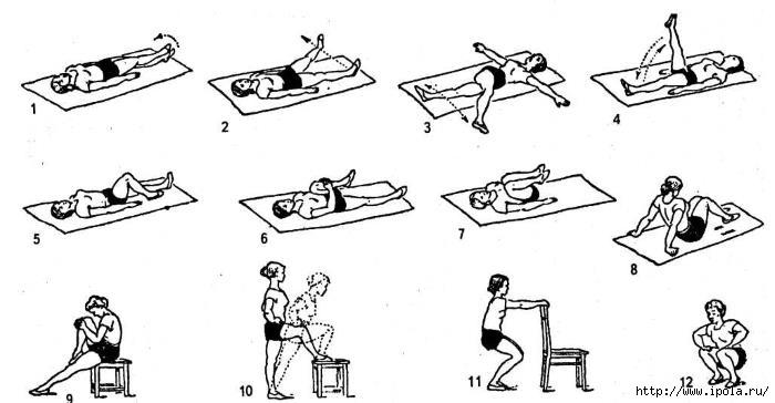 """alt=""""Лечебная гимнастика после травмы, полученной при падении во время гололёда""""/2835299__1_ (700x364, 100Kb)"""