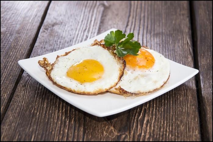 На каком масле лучше жарить яйца
