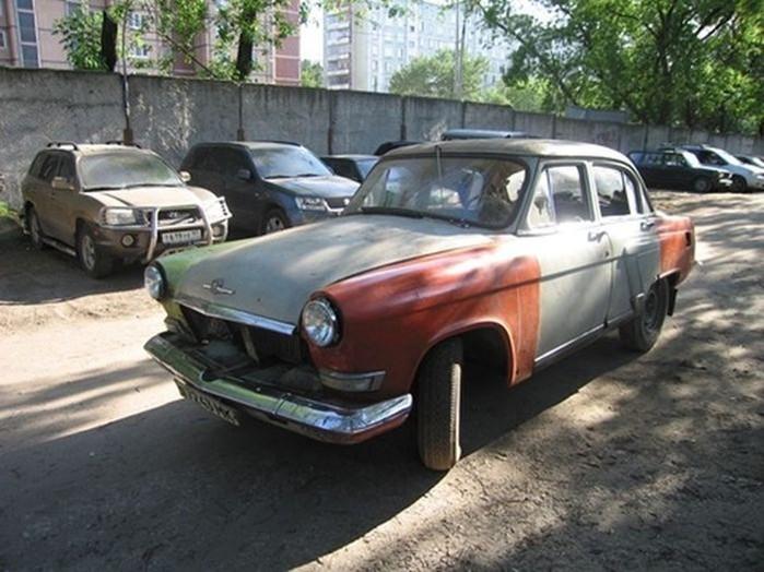 Удивительное обновление старого ГАЗ-21