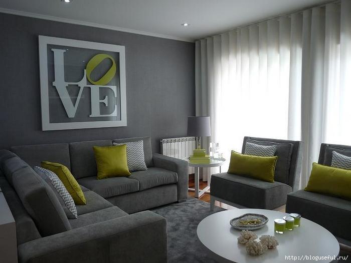 серый интерьер гостиной (700x525, 126Kb)