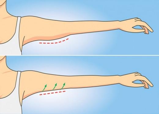 5 упражнений против дряблости рук