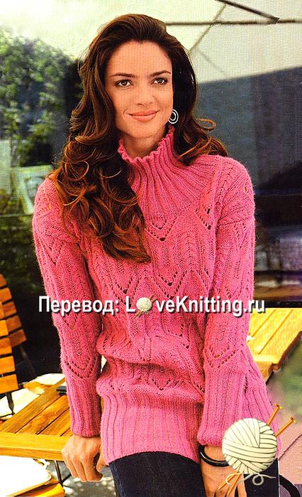 10 Нарядный пуловер МТ2 (426x700, 485Kb)