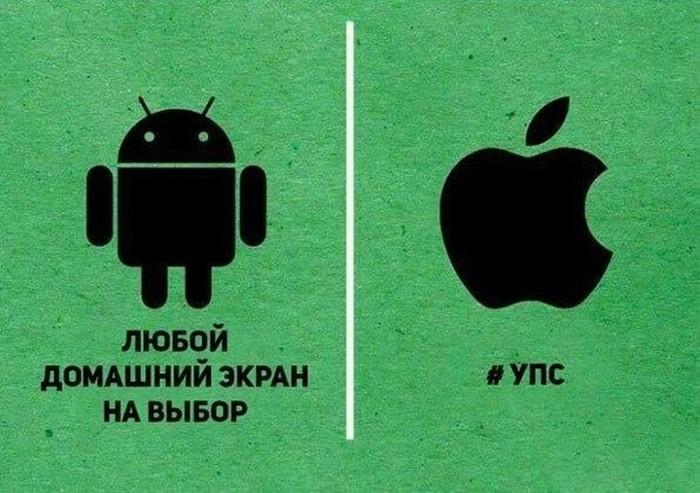 Причины, по которым Android лучше Apple