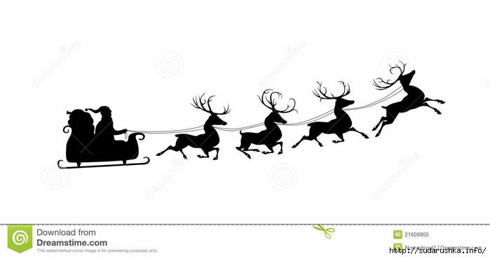 silhouet-van-kerstman-en-zijn-rendieren-21609805 (700x369, 71Kb)