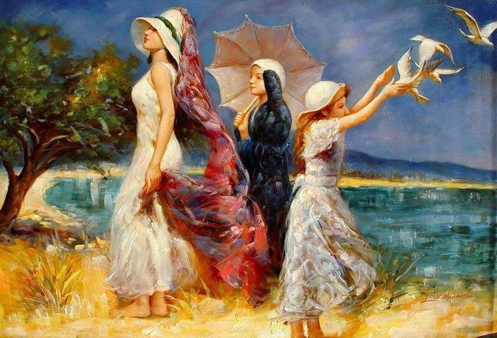 художник Эль Говард 1-0 (700x476, 474Kb)