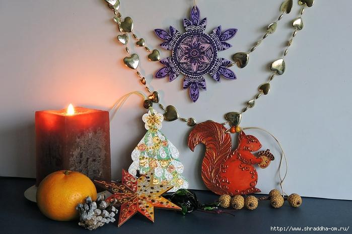 Новогодние подвески от Shraddha (21) (700x466, 255Kb)