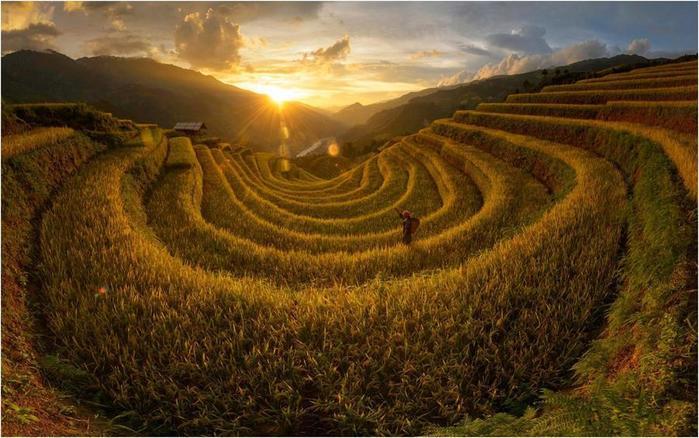 Уникальные пейзажи мира, созданные природой или человеком