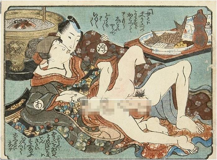 Каким был секс в Японии до XX века
