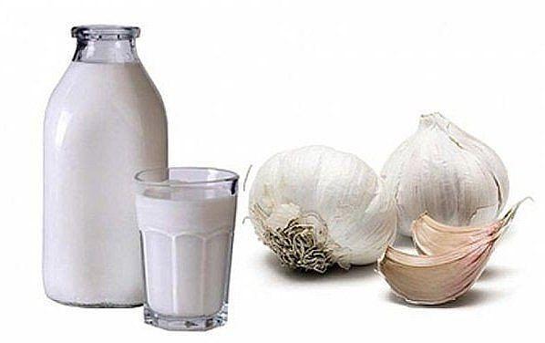 Молоко с чесноком поможет стабилизировать давление