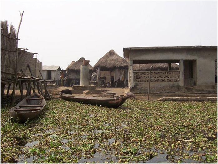 Ганвье— город на воде в Африке